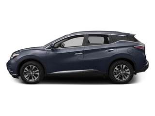 Arctic Blue Metallic 2017 Nissan Murano Pictures Murano Utility 4D SV AWD V6 photos side view