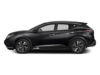 Magnetic Black Metallic 2017 Nissan Murano Pictures Murano Utility 4D SL 2WD V6 photos side view