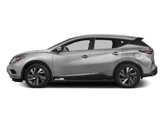 Brilliant Silver Metallic 2017 Nissan Murano Pictures Murano Utility 4D SL 2WD V6 photos side view