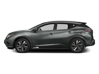 Gun Metallic 2017 Nissan Murano Pictures Murano Utility 4D SL 2WD V6 photos side view