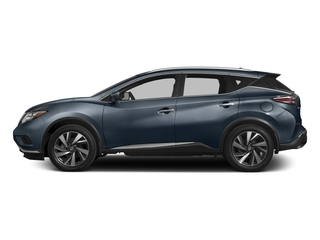 Arctic Blue Metallic 2017 Nissan Murano Pictures Murano Utility 4D SL 2WD V6 photos side view