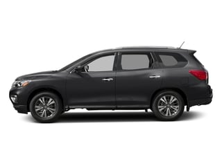 Magnetic Black Metallic 2017 Nissan Pathfinder Pictures Pathfinder Utility 4D SL 2WD V6 photos side view