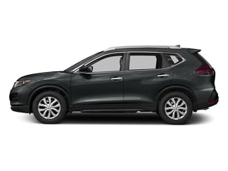 Magnetic Black 2017 Nissan Rogue Pictures Rogue Utility 4D S 2WD I4 photos side view