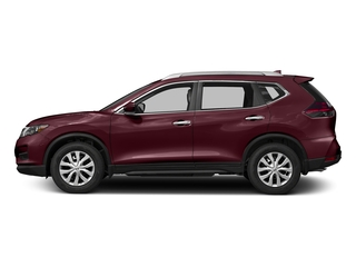 Palatial Ruby 2017 Nissan Rogue Pictures Rogue Utility 4D S 2WD I4 photos side view