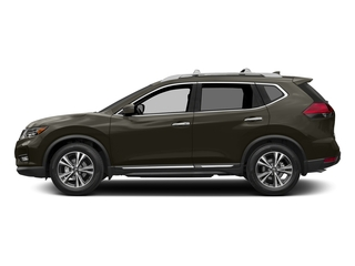 Midnight Jade 2017 Nissan Rogue Pictures Rogue Utility 4D SL AWD I4 photos side view