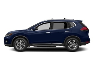 Caspian Blue 2017 Nissan Rogue Pictures Rogue Utility 4D SL AWD I4 photos side view