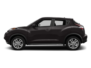 Bordeaux Black 2017 Nissan JUKE Pictures JUKE Utility 4D S 2WD I4 Turbo photos side view
