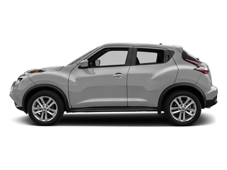 Brilliant Silver 2017 Nissan JUKE Pictures JUKE Utility 4D S 2WD I4 Turbo photos side view