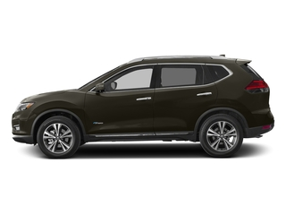 Midnight Jade 2017 Nissan Rogue Pictures Rogue Utility 4D SL 2WD I4 Hybrid photos side view