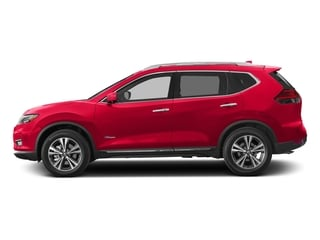 Palatial Ruby 2017 Nissan Rogue Pictures Rogue Utility 4D SL 2WD I4 Hybrid photos side view