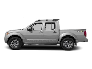 Brilliant Silver 2017 Nissan Frontier Pictures Frontier Crew Cab PRO-4X 4WD photos side view