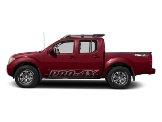Cayenne Red 2017 Nissan Frontier Pictures Frontier Crew Cab PRO-4X 4WD photos side view