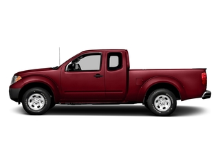 Cayenne Red 2017 Nissan Frontier Pictures Frontier King Cab S 2WD photos side view