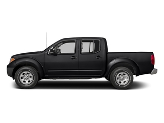Magnetic Black 2017 Nissan Frontier Pictures Frontier Crew Cab S 4WD photos side view