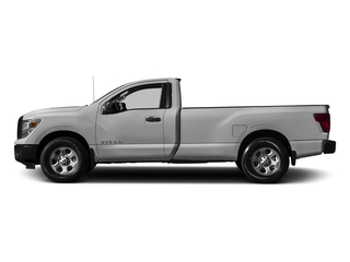 Brilliant Silver 2017 Nissan Titan Pictures Titan Regular Cab S 2WD photos side view