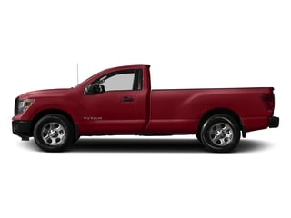 Cayenne Red 2017 Nissan Titan Pictures Titan Regular Cab S 2WD photos side view