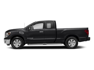 Magnetic Black 2017 Nissan Titan Pictures Titan King Cab SV 2WD photos side view