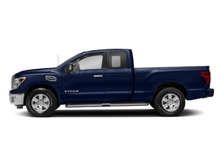 Deep Blue Pearl 2017 Nissan Titan Pictures Titan King Cab SV 2WD photos side view