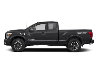 Magnetic Black 2017 Nissan Titan Pictures Titan King Cab PRO-4X 4WD photos side view
