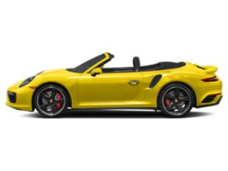 Racing Yellow 2017 Porsche 911 Pictures 911 Cabriolet 2D Turbo S AWD H6 photos side view