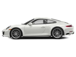 White 2017 Porsche 911 Pictures 911 Coupe 2D 4 AWD H6 Turbo photos side view