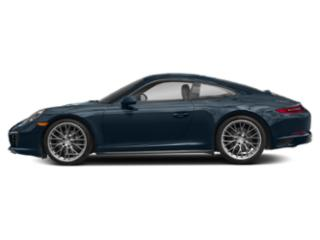 Night Blue Metallic 2017 Porsche 911 Pictures 911 Coupe 2D 4 AWD H6 Turbo photos side view