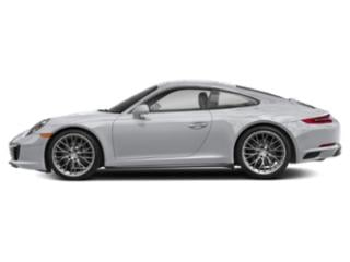 Rhodium Silver Metallic 2017 Porsche 911 Pictures 911 Coupe 2D 4 AWD H6 Turbo photos side view