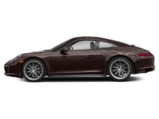 Mahogany Metallic 2017 Porsche 911 Pictures 911 Coupe 2D 4 AWD H6 Turbo photos side view