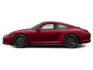 Carmine Red 2017 Porsche 911 Pictures 911 Carrera 4 GTS Coupe photos side view