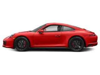 Lava Orange 2017 Porsche 911 Pictures 911 Carrera 4 GTS Coupe photos side view