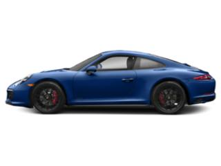 Sapphire Blue Metallic 2017 Porsche 911 Pictures 911 Carrera 4 GTS Coupe photos side view