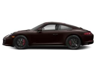 Mahogany Metallic 2017 Porsche 911 Pictures 911 Carrera 4 GTS Coupe photos side view
