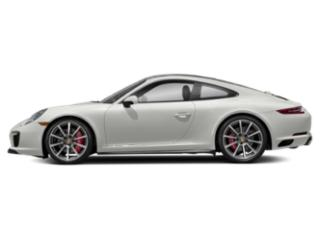 White 2017 Porsche 911 Pictures 911 Coupe 2D 4S AWD H6 Turbo photos side view