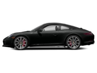 Jet Black Metallic 2017 Porsche 911 Pictures 911 Coupe 2D 4S AWD H6 Turbo photos side view