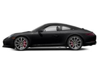 Black 2017 Porsche 911 Pictures 911 Coupe 2D 4S AWD H6 Turbo photos side view