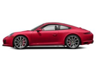 Guards Red 2017 Porsche 911 Pictures 911 Coupe 2D 4S AWD H6 Turbo photos side view