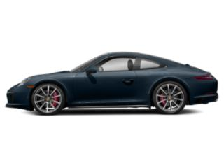 Night Blue Metallic 2017 Porsche 911 Pictures 911 Coupe 2D 4S AWD H6 Turbo photos side view