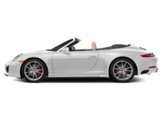 Carrara White Metallic 2017 Porsche 911 Pictures 911 Cabriolet 2D 4 GTS AWD H6 photos side view