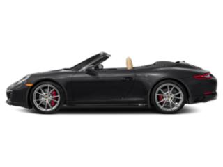 Black 2017 Porsche 911 Pictures 911 Cabriolet 2D 4 GTS AWD H6 photos side view