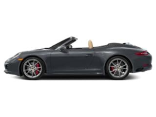 Graphite Blue Metallic 2017 Porsche 911 Pictures 911 Cabriolet 2D 4 GTS AWD H6 photos side view