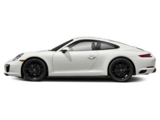White 2017 Porsche 911 Pictures 911 Coupe 2D H6 Turbo photos side view