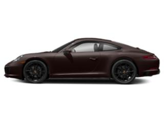 Mahogany Metallic 2017 Porsche 911 Pictures 911 Coupe 2D H6 Turbo photos side view