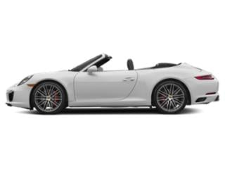 Carrara White Metallic 2017 Porsche 911 Pictures 911 Carrera S Cabriolet photos side view