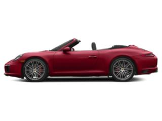 Carmine Red 2017 Porsche 911 Pictures 911 Carrera S Cabriolet photos side view