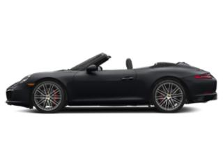 Jet Black Metallic 2017 Porsche 911 Pictures 911 Carrera S Cabriolet photos side view