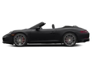 Black 2017 Porsche 911 Pictures 911 Carrera S Cabriolet photos side view