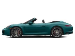 Miami Blue 2017 Porsche 911 Pictures 911 Carrera S Cabriolet photos side view