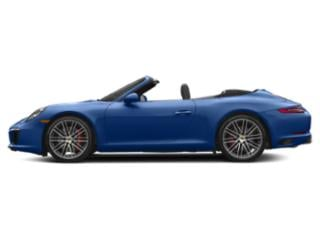 Sapphire Blue Metallic 2017 Porsche 911 Pictures 911 Carrera S Cabriolet photos side view