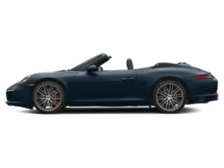 Night Blue Metallic 2017 Porsche 911 Pictures 911 Carrera S Cabriolet photos side view