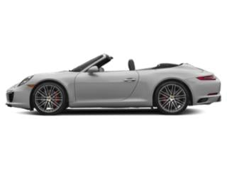 GT Silver Metallic 2017 Porsche 911 Pictures 911 Carrera S Cabriolet photos side view